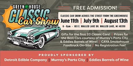 Greenhouse Classic Car Show tickets