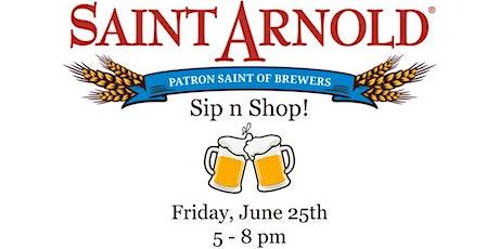 Saint Arnold Sip n Shop tickets