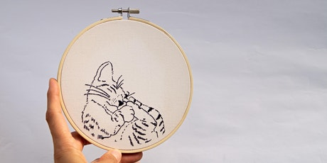 """""""Precious Pet"""" Embroidery with Marcelina Salazar tickets"""