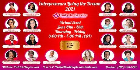 Entrepreneurs Living The Dream  June 2021 tickets