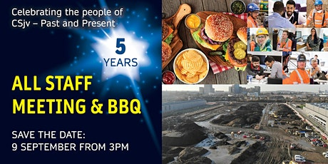 All Staff meeting & BBQ Celebrating the people of CSjv. Past and present! tickets