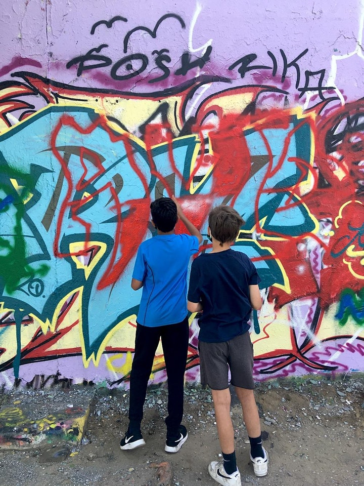 Ferienwoche: Kunst für alle: Graffiti und Streetart – mit Ausstellung: Bild