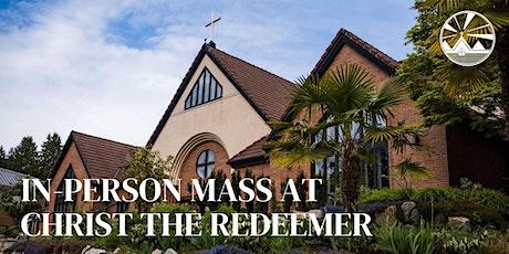 Sunday Mass at Christ the Redeemer Parish: June 12 & 13 tickets