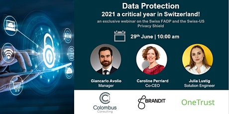 Data Protection: 2021 a critical year in Switzerland! billets