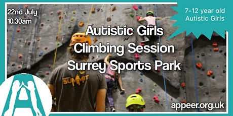 Appeer Autistic Girls Climbing Experience at Surrey Sports Park ( 7-12) tickets