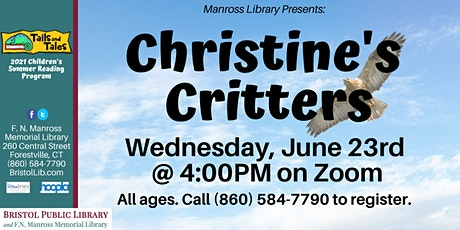 Christine's Critters Show tickets