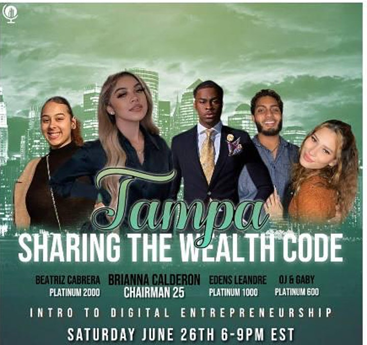 Sharing the Wealth Code : Tampa image