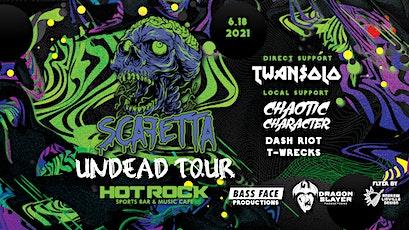 Scafetta undead tour @ hot rock tickets