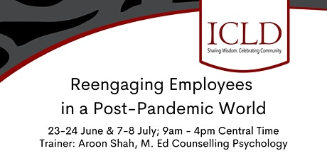 Reengaging Employees in a Post-Pandemic World tickets