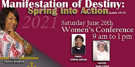 Manifestation of Destiny 2021: Spring into Action IN PERSON! tickets