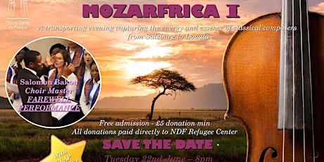MOZARFRICA I tickets
