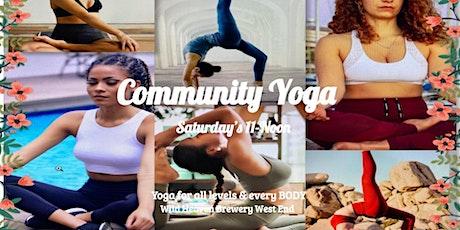 West End Community Yoga tickets