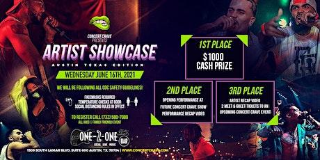 Concert Crave Artist Showcase - Austin, TX 6.16.21 tickets
