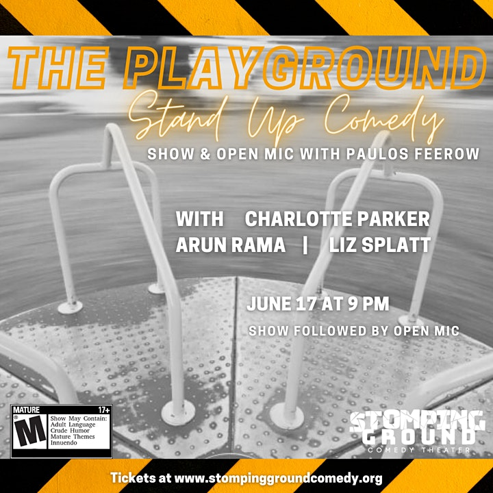 The Playground: Stand Up Comedy Show & Open Mic image