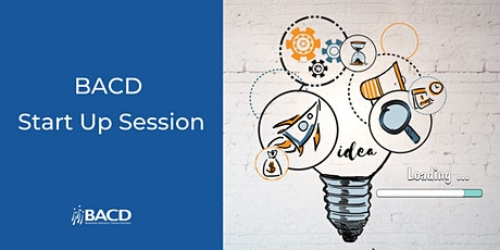 BACD Start Up Session tickets