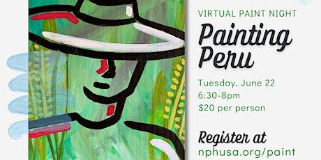 Paint Peru: Virtual Paint Night tickets