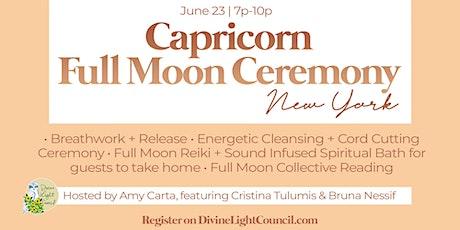 Capricorn Full Moon Ceremony tickets