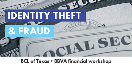 Identity Theft and Fraud tickets