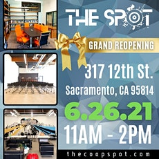 THE SPOT  Grand Reopening tickets