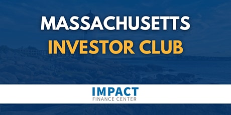 Massachusetts Investor Club tickets