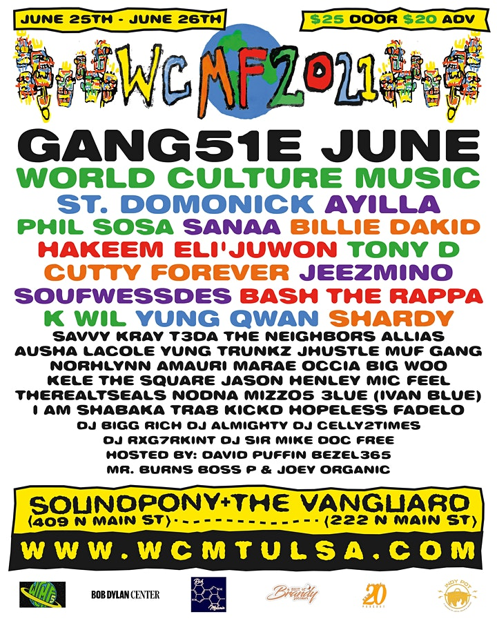 World Culture Music Festival: Vanguard Night 2 with St. Domonick and more. image