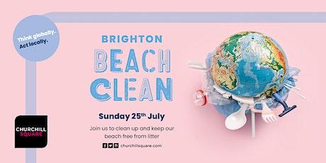 FREE 'Brighton Beach Clean' with Churchill Sq - Sunday 25th July 2021 tickets