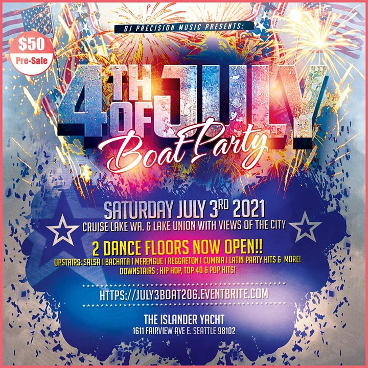4th of July Boat Party (Sat. July 3rd) image