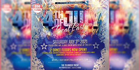 4th of July Boat Party (Sat. July 3rd) tickets