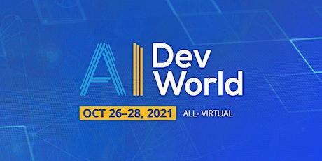 AI DevWorld 2021 tickets