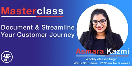 Masterclass: Document and Streamline your Customer Journey tickets