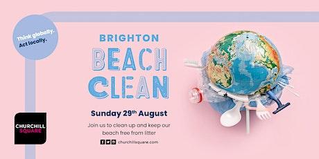 FREE 'Brighton Beach Clean' with Churchill Sq - Sunday 29th August 2021 tickets