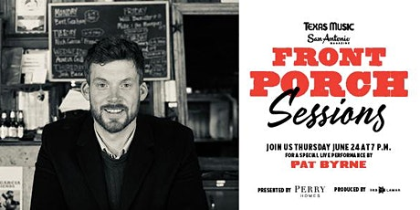 Front Porch Sessions | Featuring Pat Byrne tickets
