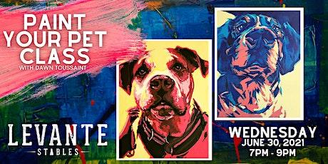Paint Your Pet! tickets