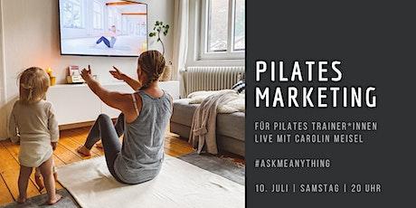 Pilates Marketing für Trainer*innen Tickets