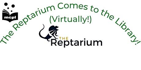 The Reptarium Virtual Visit tickets
