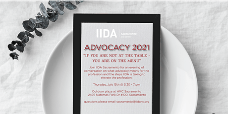 Advocacy & Appetizers 2021 tickets