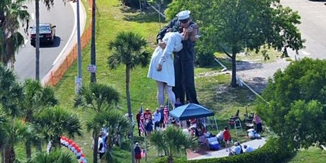 Come Celebrate America's Birthday at the Kissing Statue! tickets