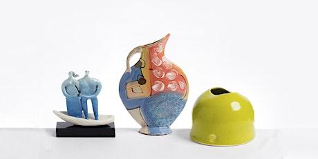 Tanya Gomez, Jenny Southam and Richard Wilson at Contemporary Ceramics tickets
