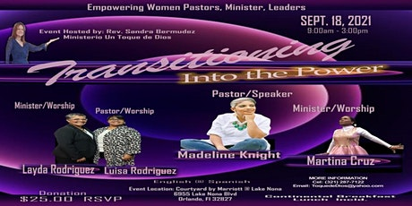 Transitioning  Into The Power - Women's Leadership Conference tickets