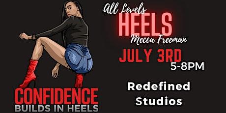 Confidence Builds In Heels Cincinnati (JUNE 5th Class) tickets