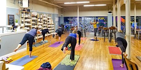 Energizing Yoga + Meditation tickets