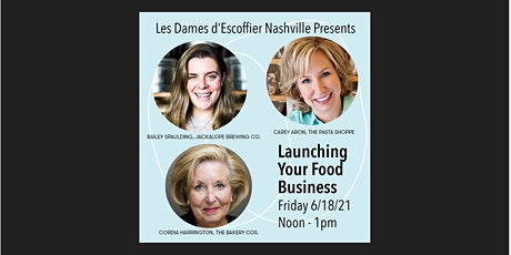 """""""Launching Your Food Business"""" tickets"""