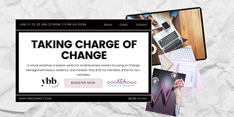 Taking Charge of Change: 4 Session Series tickets