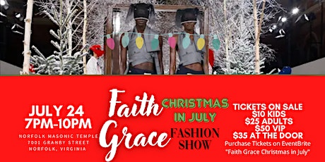 Faith Grace's: Christmas In July Fashion Show tickets