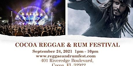 COCOA REGGAE & RUM FESTIVAL tickets