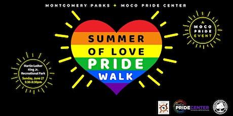 Montgomery Parks' Summer of Love PRIDE Walk tickets