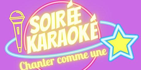 """""""Chanter comme une star"""" -  Votre soirée Karaoké  en famille billets"""