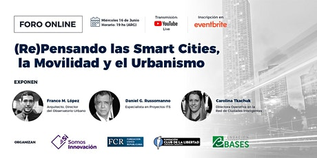 CLUB DE LIBERTAD - REPENSANDO LAS SMART CITIES, LA MOVILIDAD Y EL URBANISMO tickets