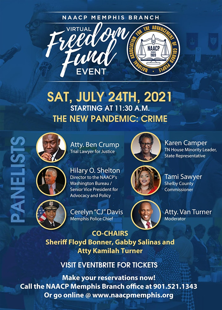 NAACP Memphis Branch Freedom Fund Event image