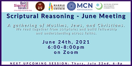 Scriptural Reasoning-June Gathering tickets